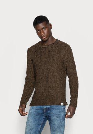 ONSSATO  - Stickad tröja - slate black/melange