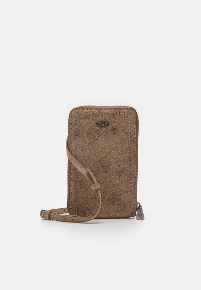 Across body bag - old wood