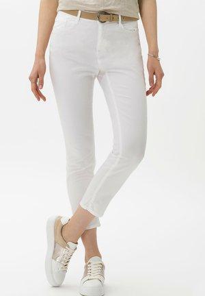 CARO S - Broek - white