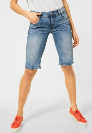 Denim shorts - blau