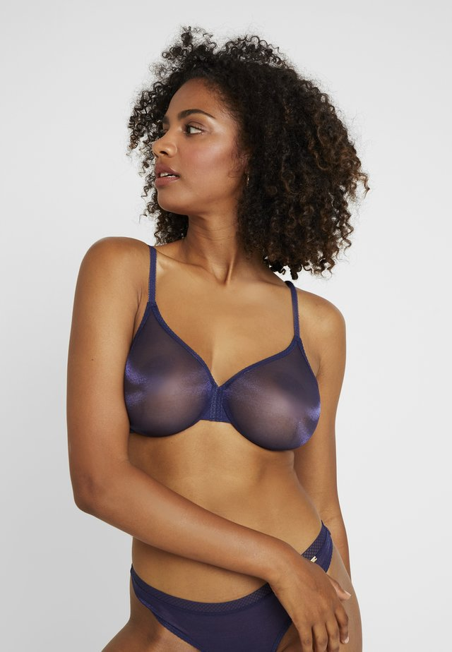 GLOSSIES MOULDED BRA - Underwired bra - midnight blue