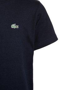 Lacoste Sport - LOGO UNISEX - Jednoduché triko - navy blue - 2