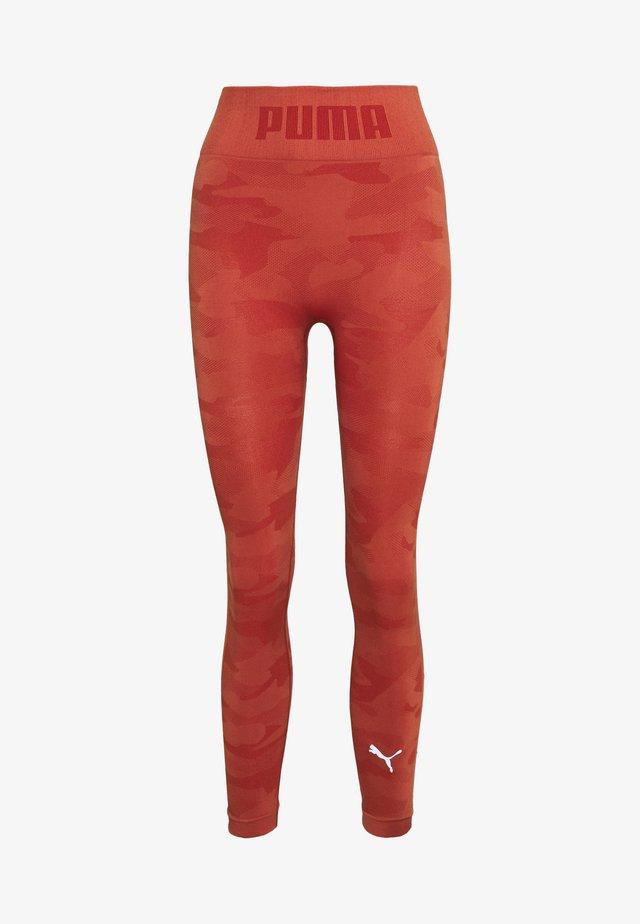 EVOKNIT SEAMLESS LEGGINGS - Leggings - autumn glaze