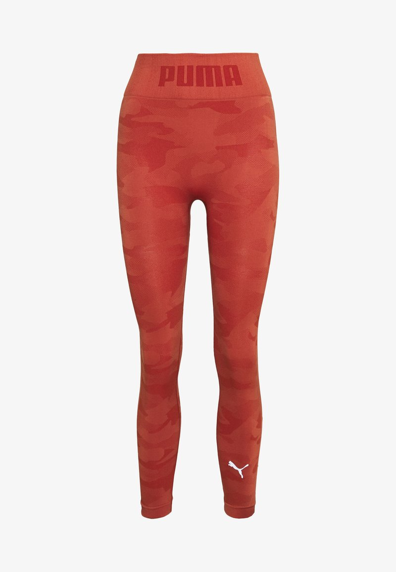 Puma - EVOKNIT SEAMLESS LEGGINGS - Legging - autumn glaze