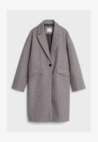 Bershka - Płaszcz wełniany /Płaszcz klasyczny - grey - 4