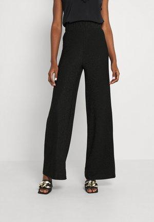 PCRINA WIDE PANT TALL - Pantalon classique - black