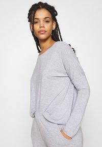 Anna Field - SAMMY SLOUCH SET - Pyjamas - light grey - 3