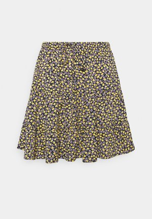 PCMELLA SKIRT  - Gonna a campana - navy blazer