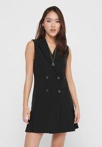 ONLY - Shirt dress - black - 0