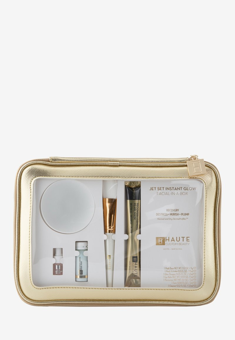 Haute Custom Beauty - JET SET INSTANT GLOW RECOVERY - Skincare set - -
