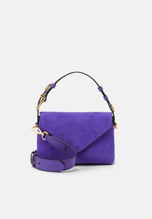 SHOULDER BAG FLAP - Handbag - blue