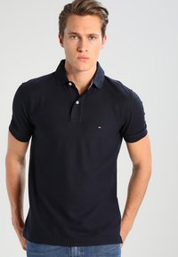 Tommy Hilfiger - PERFORMANCE REGULAR FIT - Pikeepaita - blue - 0