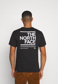 The North Face - MESSAGE TEE - T-Shirt print - black - 2