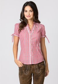 Stockerpoint - FLAVIA - Button-down blouse - red - 0