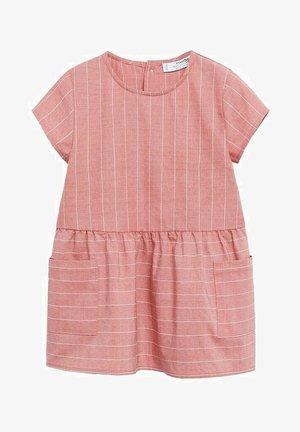 ROBE - Korte jurk - rose pastel