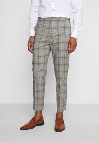 Esprit Collection - CHECK - Oblek - grey - 4