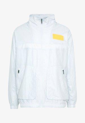 Summer jacket - pure platinum/laser orange