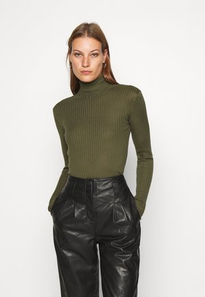 SLFCOSTA ROLLNECK - Jumper - winter moss