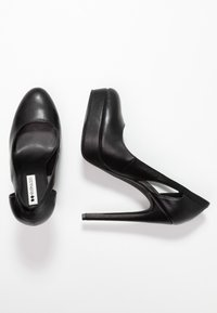 Even&Odd - Klassiska pumps - black - 3