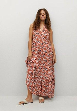 Maxi dress - corail