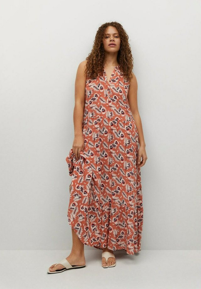 Maxi šaty - corail