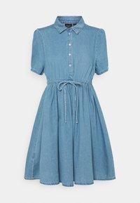 VMELLIE STRING DRESS - Denim dress - light blue denim