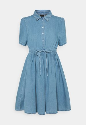 VMELLIE STRING DRESS - Denim dress - light blue denim
