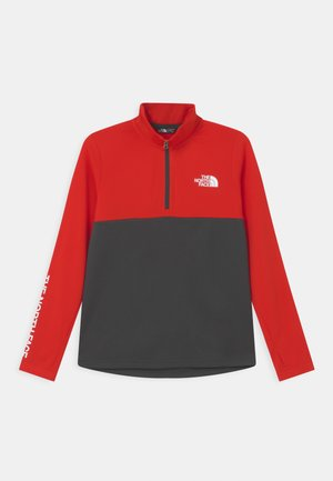 REACTOR THERMAL ZIP - Sports shirt - fiery red