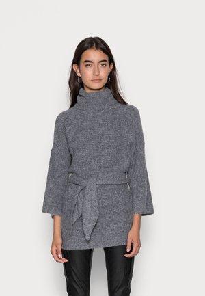 ONLMARLI LIFE 3/4 LONG  - Pullover - medium grey melange