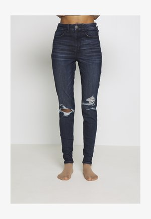 CURVY RISE  - Jeans Skinny Fit - intensely dark