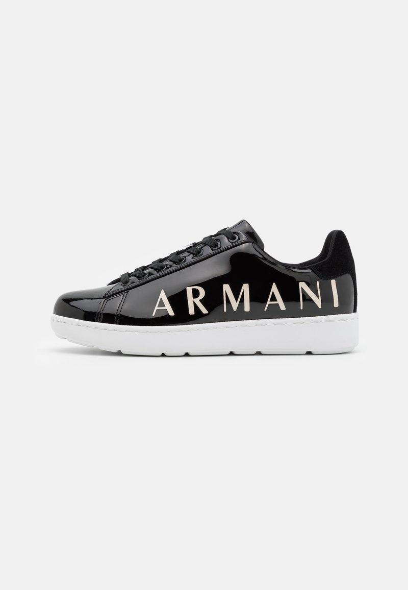 Armani Exchange - Sneakersy niskie - black/white