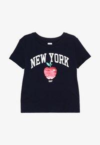 GAP - GIRLS CITY - T-shirts print - navy uniform - 2