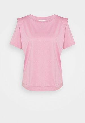 KLAARAA - T-shirt basic - dusky pink