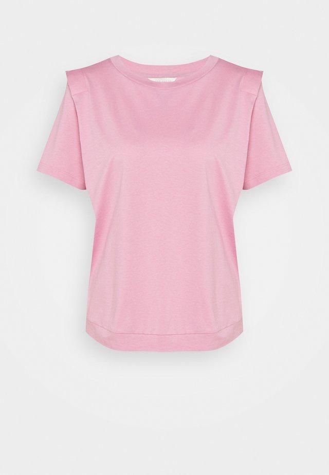 KLAARAA - Basic T-shirt - dusky pink