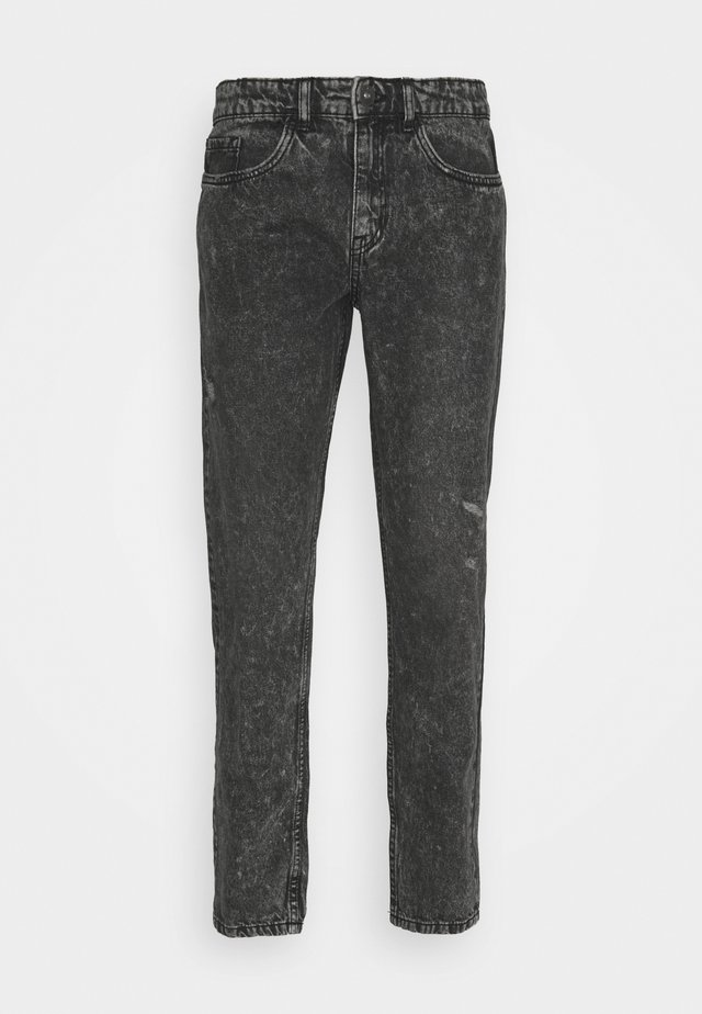 MONACO - Jeansy Slim Fit - black grey