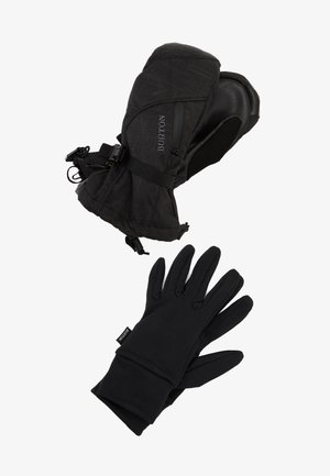 BAKER 2IN1 - Mittens - true black