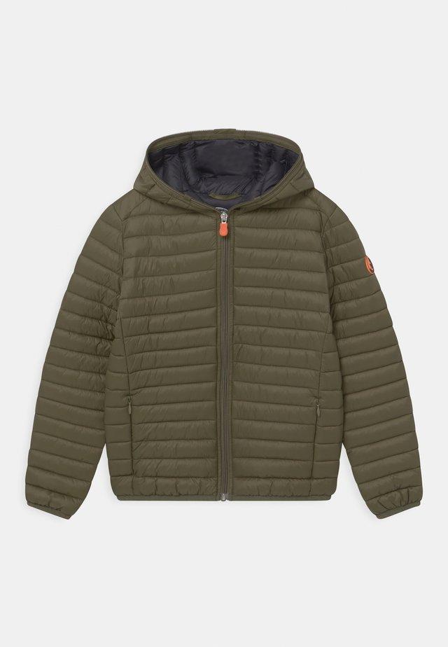 EVAN HOODED UNISEX - Light jacket - dusty olive