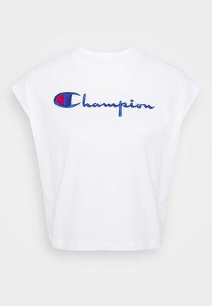CREWNECK SLEEVELESS  - Camiseta estampada - white