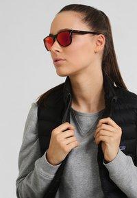 Oakley - TRILLBE X UNISEX - Sunglasses - ruby iridium - 1