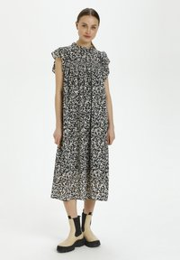 Soaked in Luxury - Day dress - preppy animal black - 0