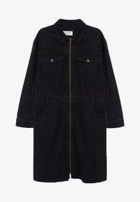 Violeta by Mango - BRITNEY - Denim dress - black denim - 4