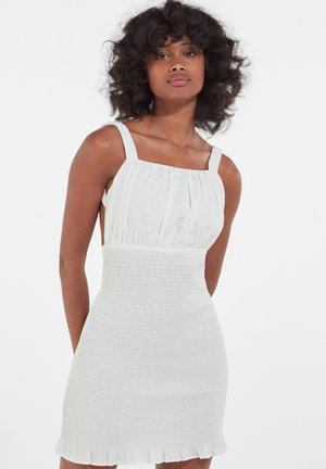 Robe fourreau - white