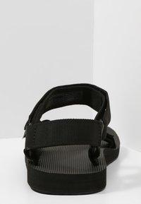 Teva - ORIGINAL UNIVERSAL URBAN - Walking sandals - black - 3