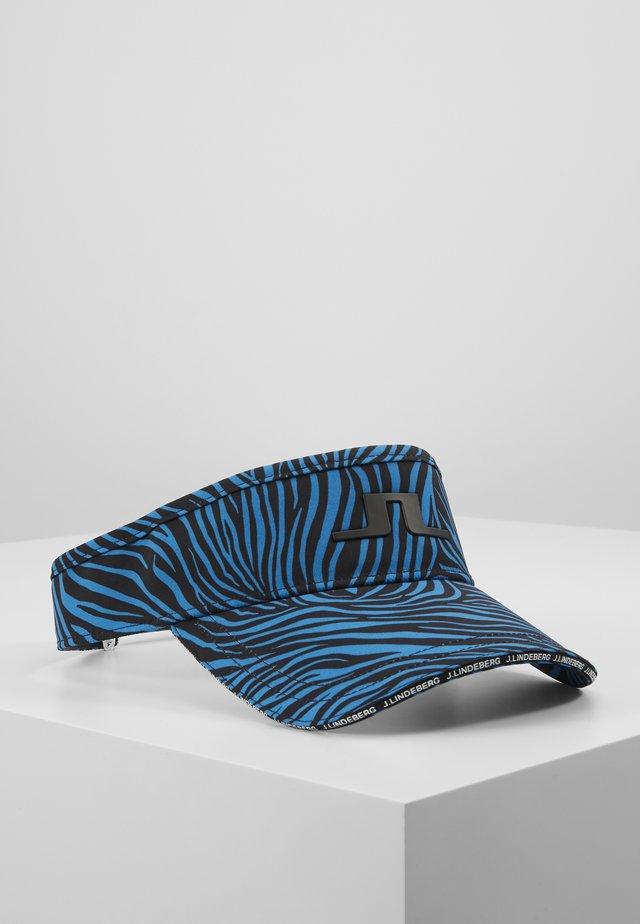 YADEN PRINT VISOR TECH STRETCH - Casquette - blue