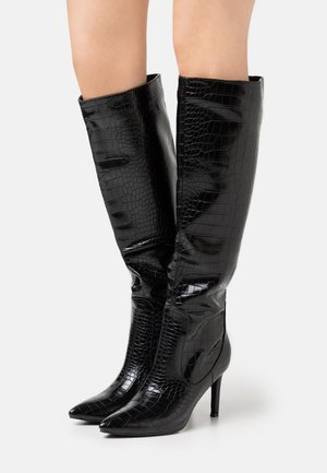 TRIBUTE - High heeled boots - black