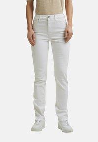 Esprit - Straight leg jeans - white - 3