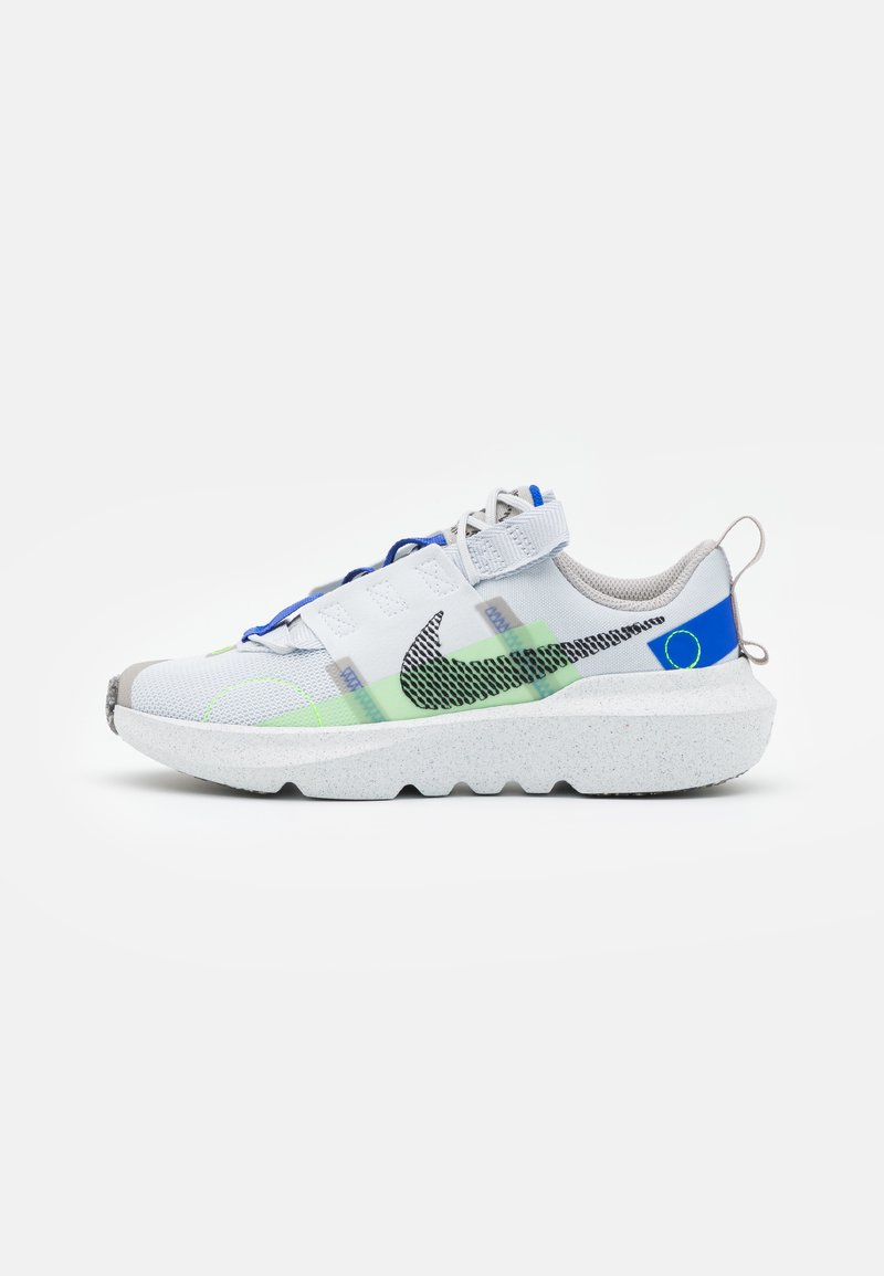 Nike Sportswear - CRATER IMPACT UNISEX - Trainers - pure platinum/black/electric green/racer blue/college grey