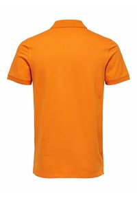 Selected Homme - SLHARO EMBROIDERY - Polo shirt - russet orange - 6