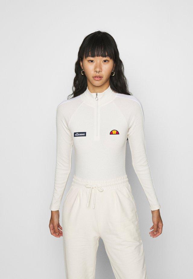 VIUMS - Maglietta a manica lunga - off white