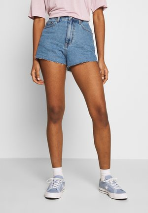 SKYE - Denim shorts - retro sky blue